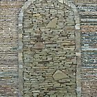 abstract background of decorative stone by Valerii Kotulskyi