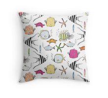 Caribbean Sea Throw Pillow
