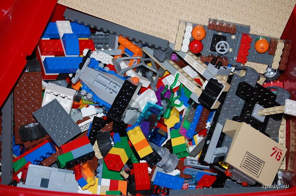 Eggo my Legos by zpawpaw