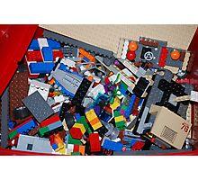 Eggo my Legos Photographic Print