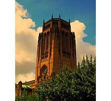 Liverpool Anglican Cathedral Photographic Print