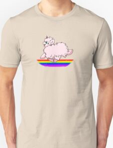 Pink Fluffy Unicorns Dancing on Rainbows Feat. Flufflepuff T-Shirt