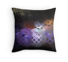 Bubbles Triboarders 1 Throw Pillow