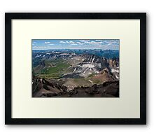 Being Able to See the Curvature of Earth Framed Print