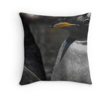 Penguin, Edinburgh Zoo Throw Pillow