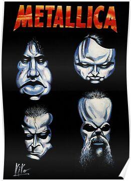 Metallica Caricature