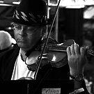 Violin by Joanne  Bradley