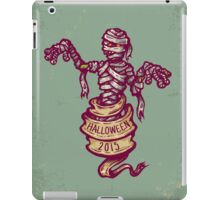 Mummy and old ribbon for Halloween iPad Case/Skin