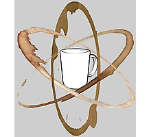 Coffee Mug Atom Photographic Print