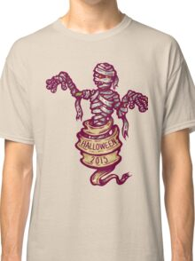 Mummy and old ribbon for Halloween Classic T-Shirt
