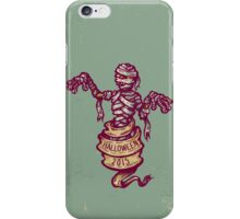 Mummy and old ribbon for Halloween iPhone Case/Skin