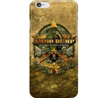 Ammo Dump iPhone case iPhone Case/Skin