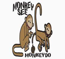 Monkey See Monkey Do by sensameleon