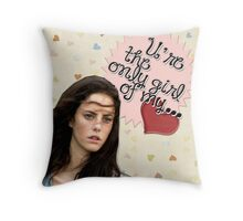 The Maze Runner Greeting Cards [Teresa] Throw Pillow
