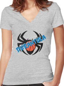 Durantula Women's Fitted V-Neck T-Shirt