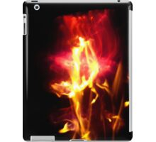 Fire Flowers Seem Settled iPad Case/Skin
