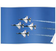 United States Air Force Thunderbirds Poster