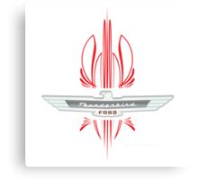 Thunderbird Emblem w Pinstripes Canvas Print