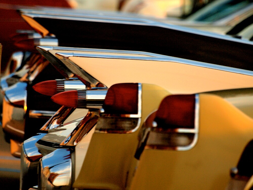 Tailfins at the Dream Cruise by kelleygirl