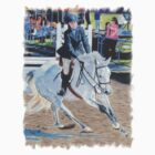 Determination - Horseshow T-Shirt or Hoodie by Patricia Barmatz