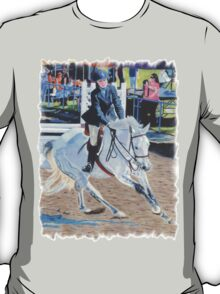 Determination - Horseshow T-Shirt or Hoodie T-Shirt