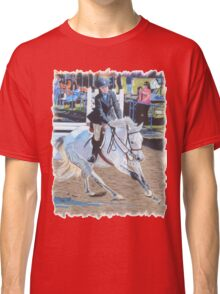 Determination - Horseshow T-Shirt or Hoodie Classic T-Shirt