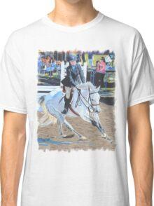 Determination - Horseshow T-Shirt or Hoodie Classic T-Shirt