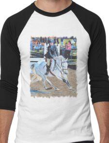 Determination - Horseshow T-Shirt or Hoodie Men's Baseball ¾ T-Shirt