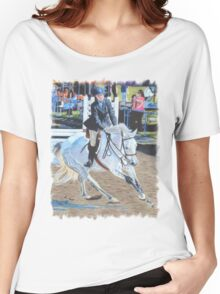Determination - Horseshow T-Shirt or Hoodie Women's Relaxed Fit T-Shirt
