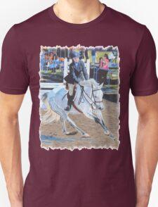 Determination - Horseshow T-Shirt or Hoodie T-Shirt