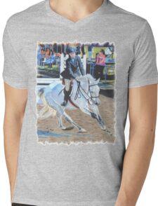 Determination - Horseshow T-Shirt or Hoodie Mens V-Neck T-Shirt