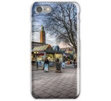 Gentleman's Walk, Norwich iPhone Case/Skin
