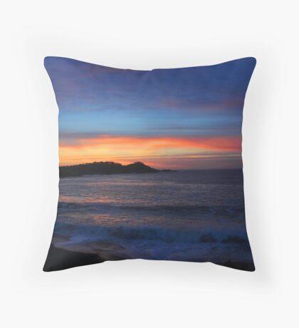 Carmel Sunset Throw Pillow