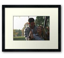 Ryan and Danielle Framed Print