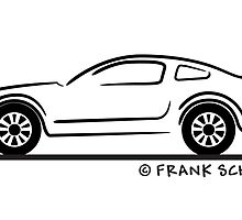 Ford Mustang GT Fastback by Frank Schuster