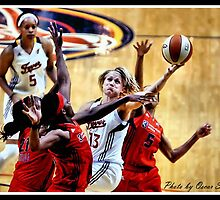 Indiana Fever vs Mysics Basktball 6 by Oscar Salinas