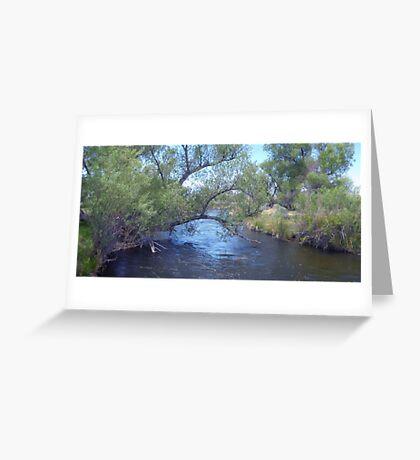 Cool Scenery Greeting Card