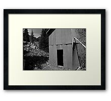 The Doorway to the Revolution through the Rockies Framed Print
