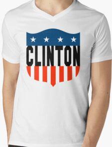 clinton : stars and stripes Mens V-Neck T-Shirt