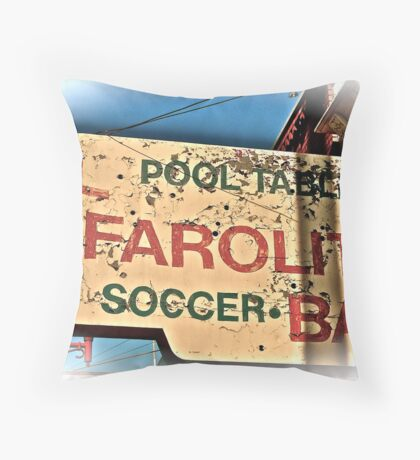 In La Mission, San Francisco, CA. Throw Pillow