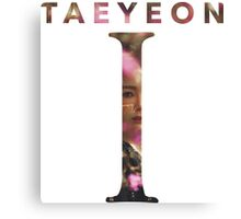 Girls' Generation (SNSD) Taeyeon 'I' - 2 Canvas Print