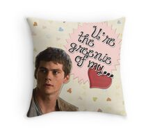 The Maze Runner Greeting Cards [Thomas] Throw Pillow