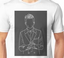 Louis Tomlinson outline Unisex T-Shirt