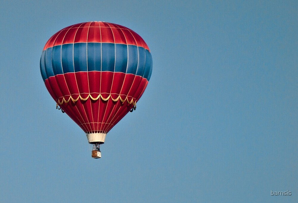 The Circus Balloon by barnsis