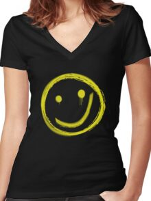 The Great Game (sans text) Women's Fitted V-Neck T-Shirt