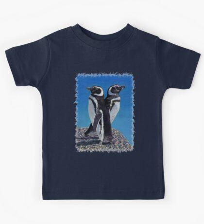 Cute Penguins T-Shirt Kids Tee
