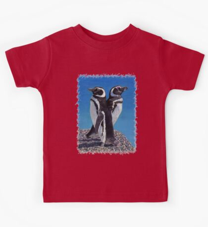 Cute Penguins T-Shirt Kids Tee