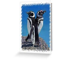 Adorable Penguin Greeting Card Greeting Card