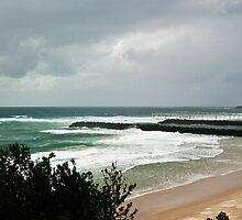 The Empty Beach - Duranbah by Odille Esmonde-Morgan