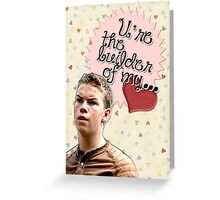 The Maze Runner Greeting Cards [Gally] Greeting Card